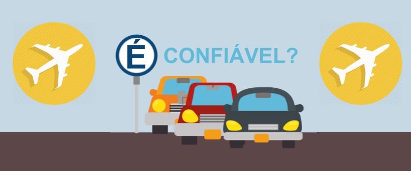 É confiável deixar o carro em estacionamentos próximo aos aeroportos?